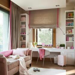 Roman Blind With Boarders